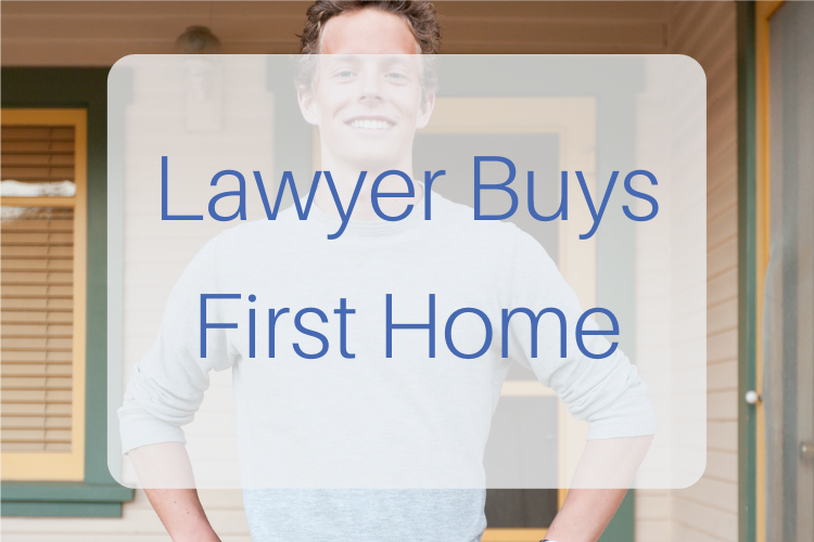 Lawyer buys first home
